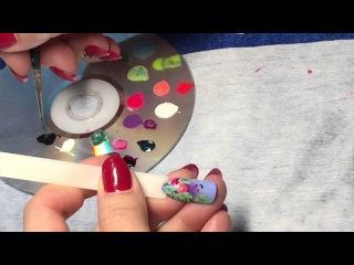 [Мастер класс] Дизайн ногтей гель-лаками.