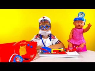 Детский набор доктора  doctor set Play Doll Toys