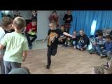 танец победителя брек-данс в Антикафе 29.12.15
