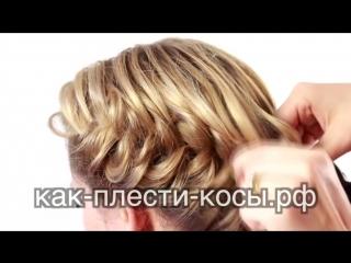 Прически с Косами на Средние Волосы - Урок по Созданию Причесок с Косами для Средних Волос