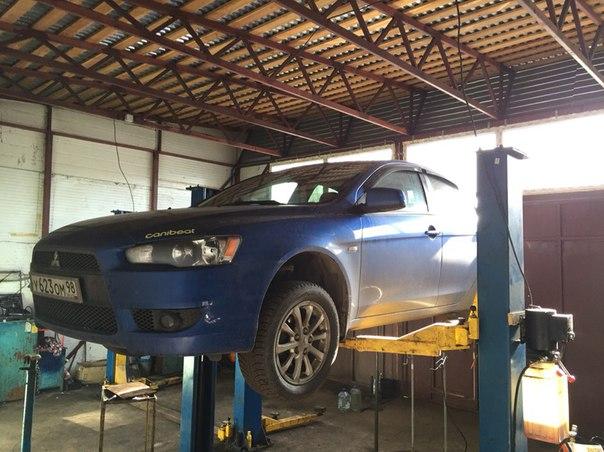 Тюнинг выхлопа Mitsubishi Lancer X Sportback 1.8