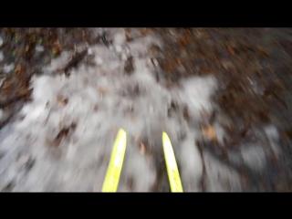 Spring xc-skiing
