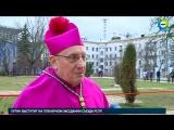 Минские католики инсценировали путь Христа на Голгофу