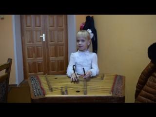 Маленькой елочке холодно зимой. Цимбалы+фортепиано