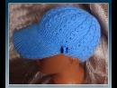 Кепочка спицами Knitting caps