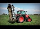 Cięcie trawy z Kubota M135GX Kosiarka 3 2 m = 40 km h ☆ GoPro na głowie 15 ㋡ MafiaSolec