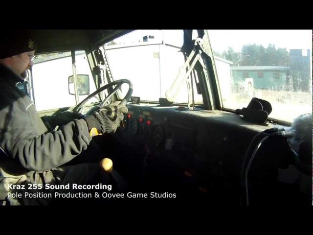 Kraz 255 Sound Recording   SPINTIRES Dev