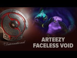 Arteezy (Faceless Void) - TEAM SECRET vs. ESCAPE GAMING @ The International 2016
