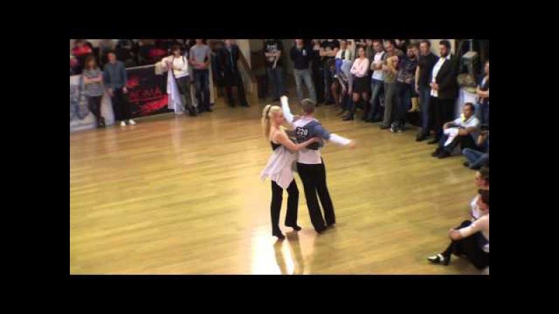 ЧР2014 Slow Hustle Колмогорловы Дмитрий - Светлана