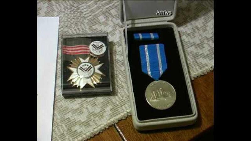 Notiek atceres pasākumi majora Alfrēda Porieša piemiņai