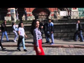 Фотосессия Наталии Орейро на Красной площади