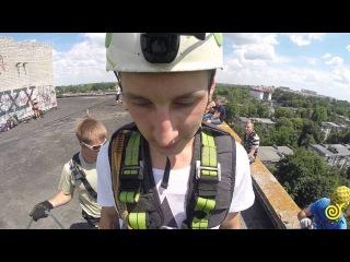 Ромчик прыжок с 16ти этажки