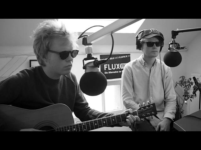 Kakkmaddafakka Galapagos live (acoustic) @FluxFM