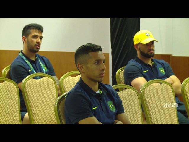 Seleção Olímpica se reúne com a FIFA