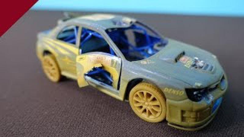 Subaru Impreza WRC 2007. Tions à Subaru Impreza. La voiture de jouetteSubaru Impreza WRC 2007