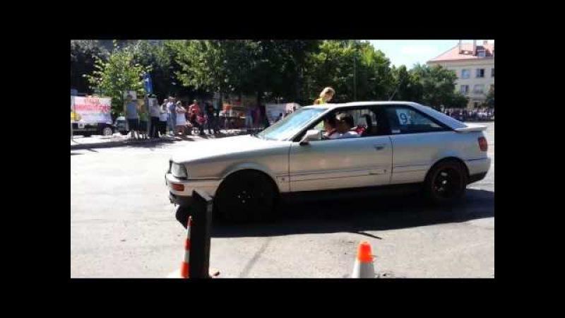 ATS Kutno Audi 80 uwaga na uszy bez tłumika