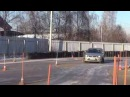 Автодром парковка, гараж, змейка, эстакада, разворот. 29.11.15
