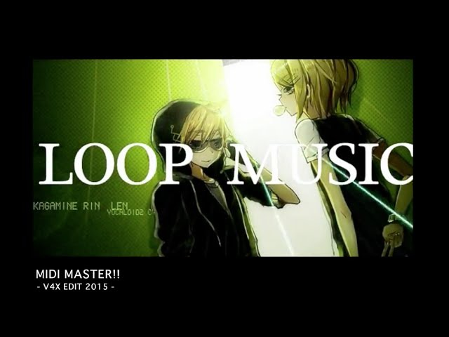 【鏡音V4X】MIDI MASTER!!【オリジナルMV/ワンオポ】/ kagamine Rin Len V4X