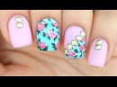 Nail Art Tutorial: Vintage Floral Mix Match