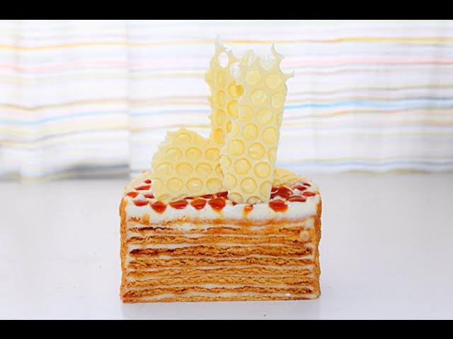 Торт медовик из жидкого теста