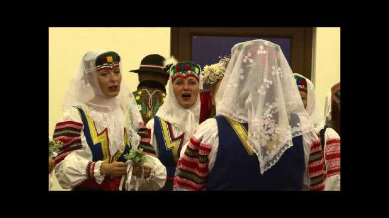 SVADBA - čepčenie nevesty (Tatr. Kotlina - Hučava) FSS Magurák Kežmarok - O. Pitoňák - Robo Video