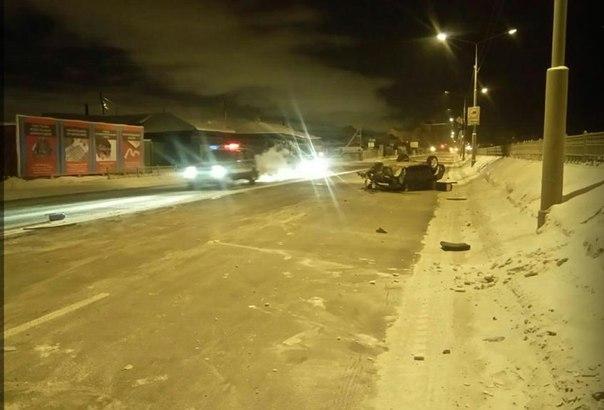 Бросив разбитую машину, водитель иномарки убежал с места ДТП