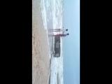 Неспокойное Азовское море в Кирилловке.Шторм На Азове 2016.От ветра трясло телефон так что не судите строго))