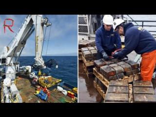 Самые необычные находки на дне океана