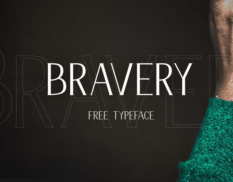 Download Bravery Lite font (typeface)
