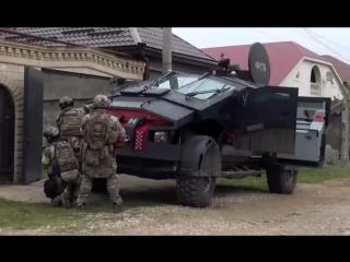 Новейший броневик ФСБ «Каратель» засветился в Дагестане. Видео