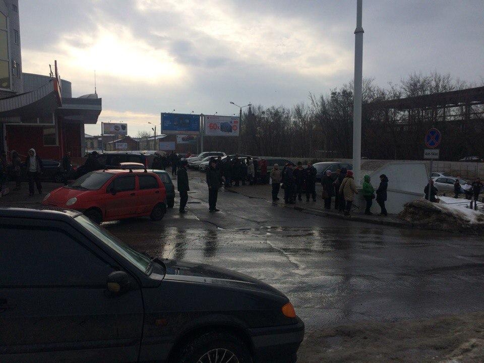 Угроза взрыва в центре Харькова (ФОТО)