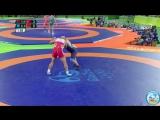 РИО-2016 125 кг 1_4 финала Таха Акгуль (Турция) - Ибрагим Саидов (Беларусь)