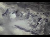 Уничтожение  подземного бункера боевиков в провинции ХАМА. Сирия.