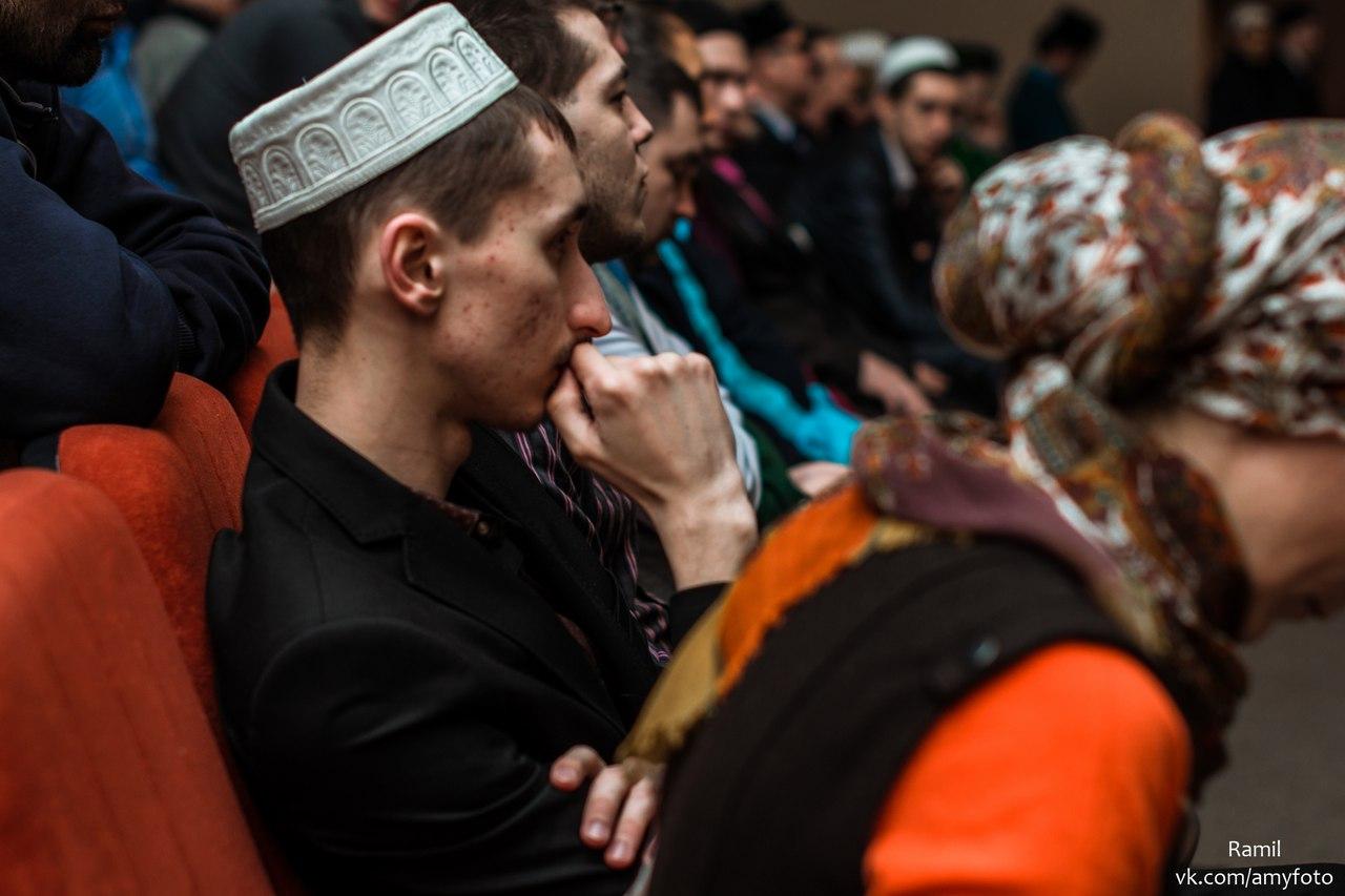 Участники межрегионального форума «Мусульманская молодежь в современной России». Ульяновск. 05.03.16 г.