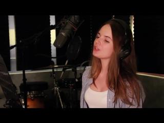 Sasha Spilberg - Adele Rolling In The Deep :-* ( очень красивая поет )