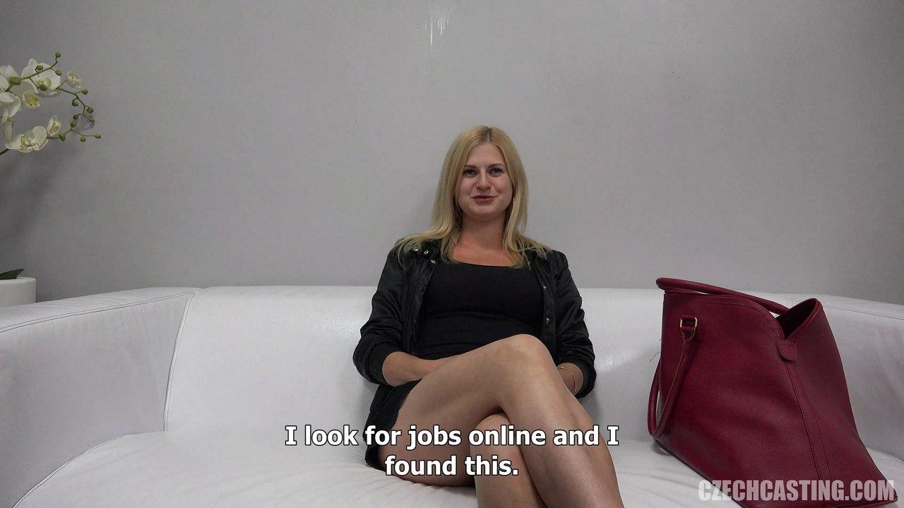 26 летняя блондинка Karin с потрясающей жопой на CzechCasting