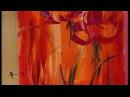 MONITOR Gabriela Mensaque pintando con Acrílicos Profesionales Lautrec Manos a la Obra