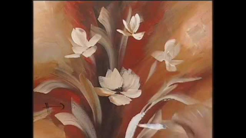 MONITOR | Gabriela Mensaque pinta con Lautrec flores con esponja | Manos a la Obra