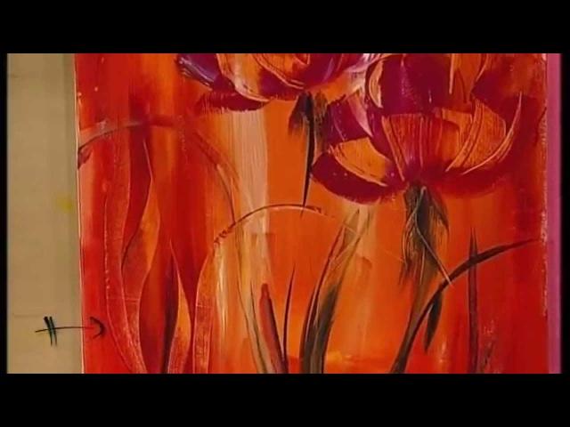 MONITOR | Gabriela Mensaque pintando con Acrílicos Profesionales Lautrec | Manos a la Obra