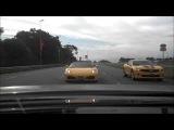 BMW M5 V10 carro mais rapido do brasil vs Ferrari F430 vs Porsche Turbo PDK