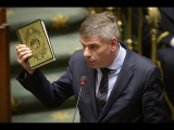 Belgian right-winger calls out Qur'an as