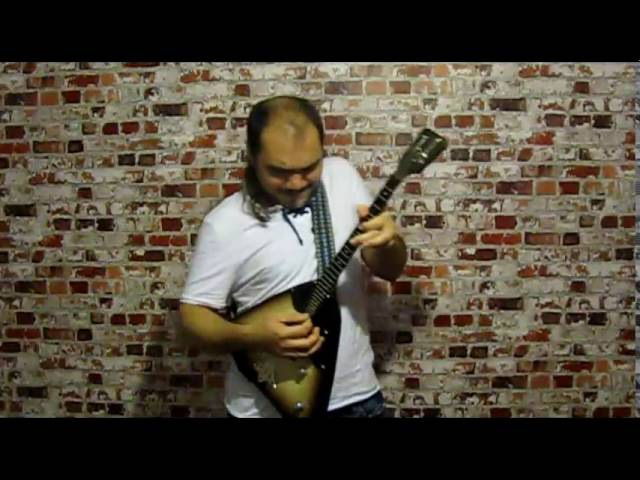 Gary Moore - Parisienne Walkways balalayka cover Тум-Балалайка