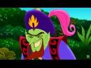 Джейк и пираты Нетландии - Дред, злой джинн! / Струя песка! - Серия 32, Сезон 3