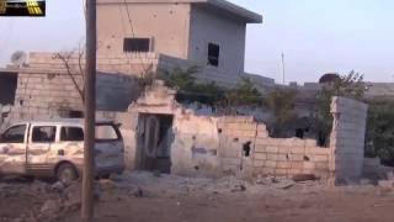 Сирия Идлиб Абелин Авиаудары 03 06 2016 Syria Idlib Abelin Air strikes