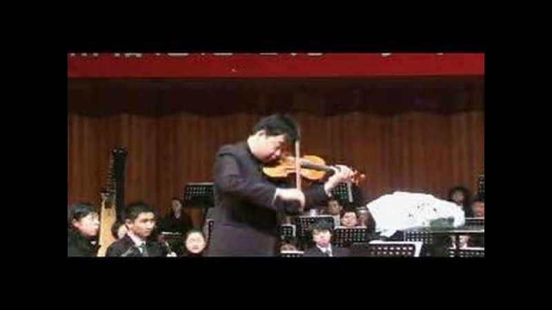 Ning Feng plays Paganini Caprice No.5 (Original Bowing)
