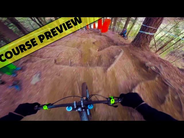 European Downhill Cup Kranjska Gora 2016 Course Preview - Fabio Wibmer