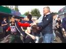 Хрюши против массовая драка на Преображенском рынке полная версия