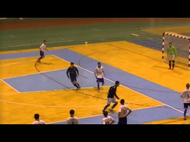 Футзал СумДУ 2 3 0 Олимпик КомпСервис 13 03 2016 HighSportLive HSL