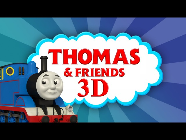 THOMAS THE TANK ENGINE in AWESOME 3D