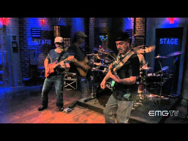 Prairie Prince and Bobby Vega perform Chicken And Waffles on EMGtv